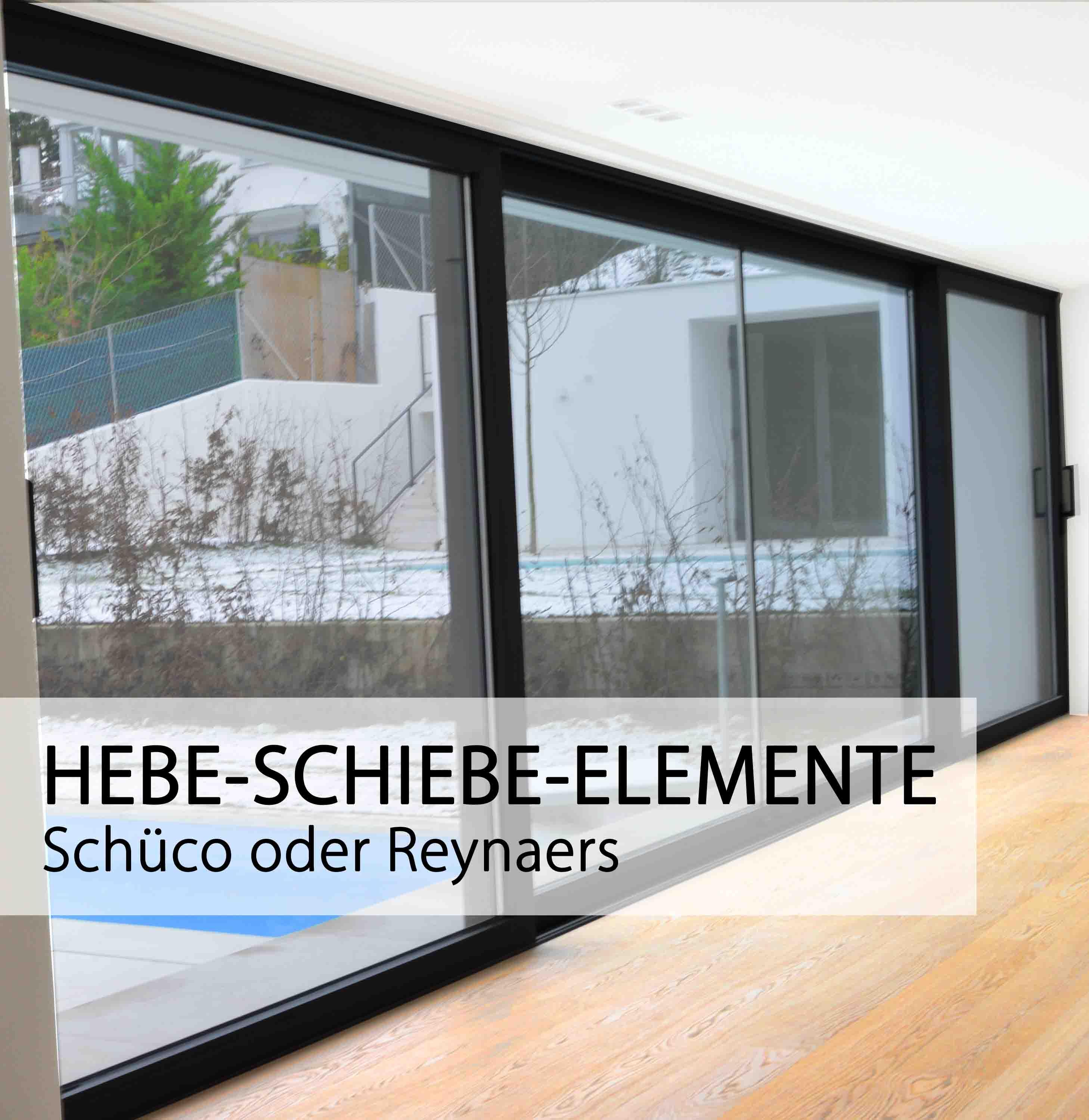 Aluminium Fenster von Schueco