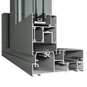 cp155, aluminium Fenster