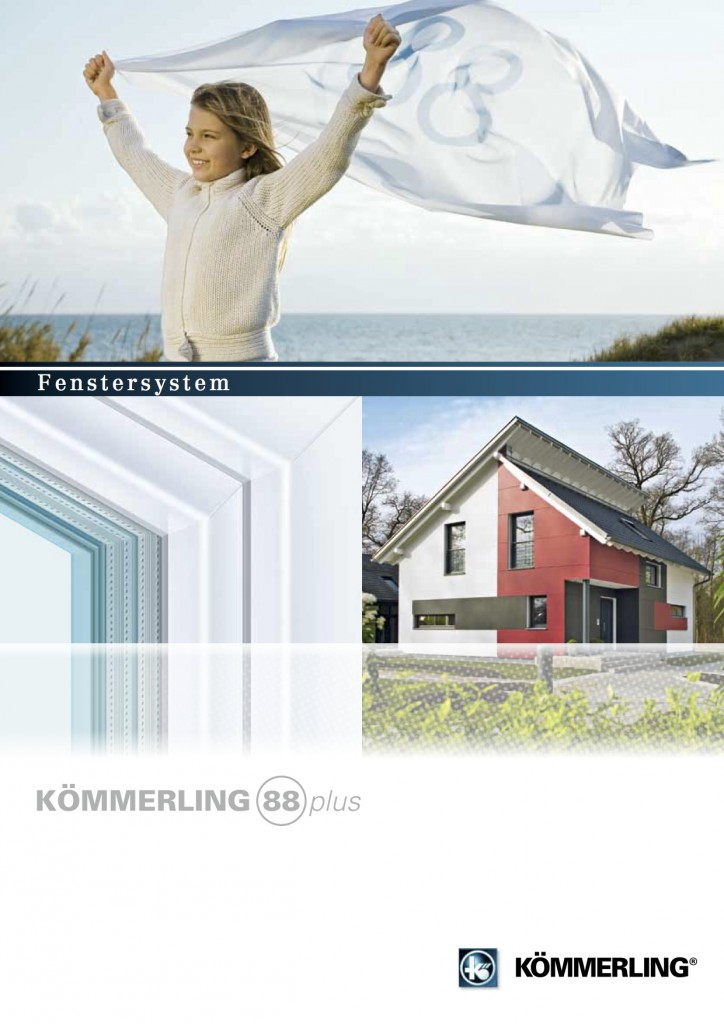 PVC   Thermofenster  2flg (6 Kammern)